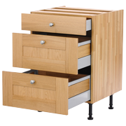 solid wood drawer cabinet