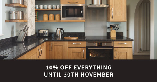 10% off Everything until 30th November