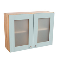 Wall cabinet - 2 x glazed door