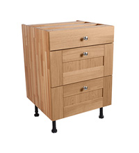Pan Drawer Base cabinet - 3 drawers