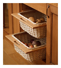 Wicker Storage Units