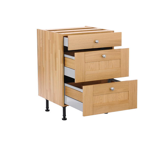 Solid Wood Kitchen Cabinets Drawer Cabinet Specification Page