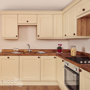 Make sure you store your oak cabinets and hardwood worktops correctly