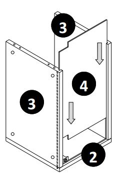 500mm - 600mm Wall Cabinet (Bridge Unit) Installation Guide - Step Five