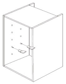 800mm - 1200mm Wide Belfast Sink Cabinet Assembly Instructions - Fitting Shelves