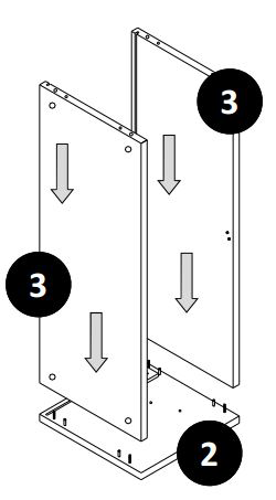 800mm - 1200mm Wall Cabinet (Bridge Unit) Installation Guide - Step Four