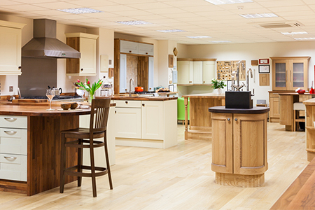 Solid Wood Kitchen Cabinets - Gloucestershire Showroom