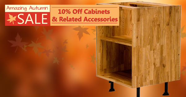 Save 10% on Solid Oak Kitchens with our 'Amazing Autumn'