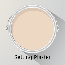 Colours of the Month: Setting Plaster