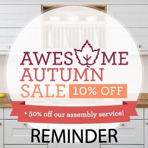 Don't Forget: Save 10% on Oak Kitchens in Our 'Awesome Autumn' Sale
