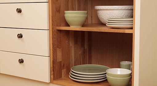 Solid Wood Base Cabinets are manufactured from the highest quality