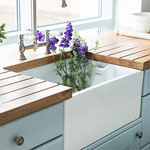How to Install a Belfast Sink in a Solid Oak Kitchen