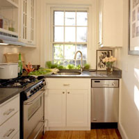 If you are really short on space, consider installing slimline appliances.
