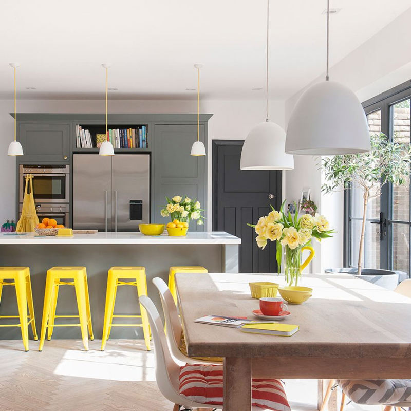 Top Tips for a Grey Kitchen | Solid Wood Kitchen Cabinets Blog