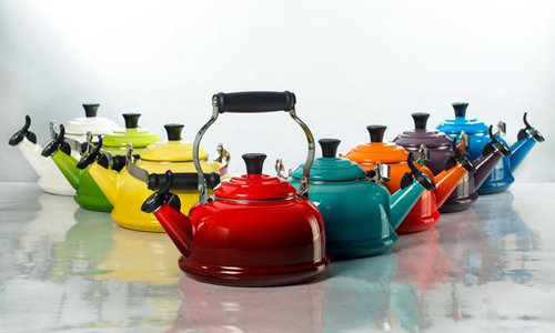 Stove kettles come in a wide variety of different styles and colours.