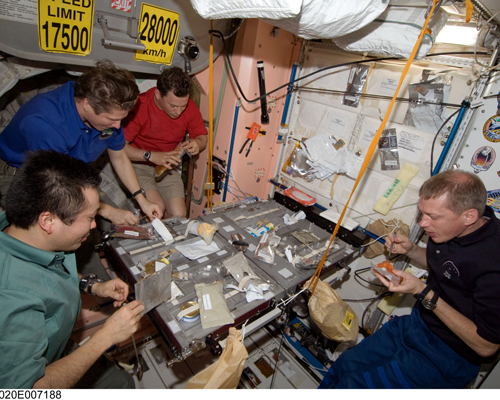 At 408km above the surface of the earth the kitchen on the International Space Station is the highest kitchen in the world.