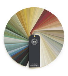 Farrow & Ball have a wide selection of natural, water-based paints that have low levels of VOCs.