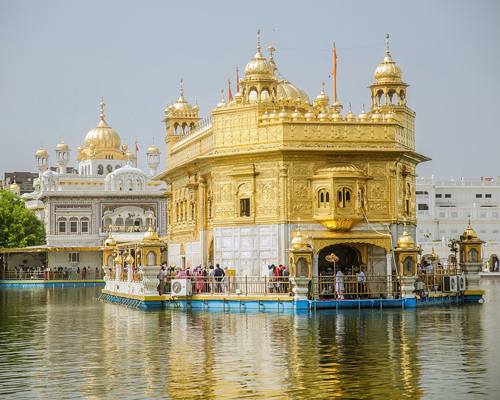 The Sikh Golden Temple in Amritsar serves on average almost 100,000 people per day.