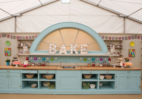 The Great British Bake Off is shown on Channel 4 at 8pm every Tuesday.