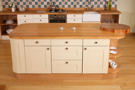 Kitchen islands make a beautiful feature in any kitchen.