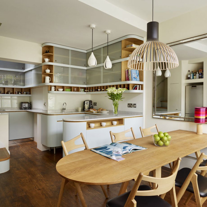 4 Elements Could Bring Out Traditional Kitchen Designs: 10 Of The Best Small Open Plan Kitchen Ideas.