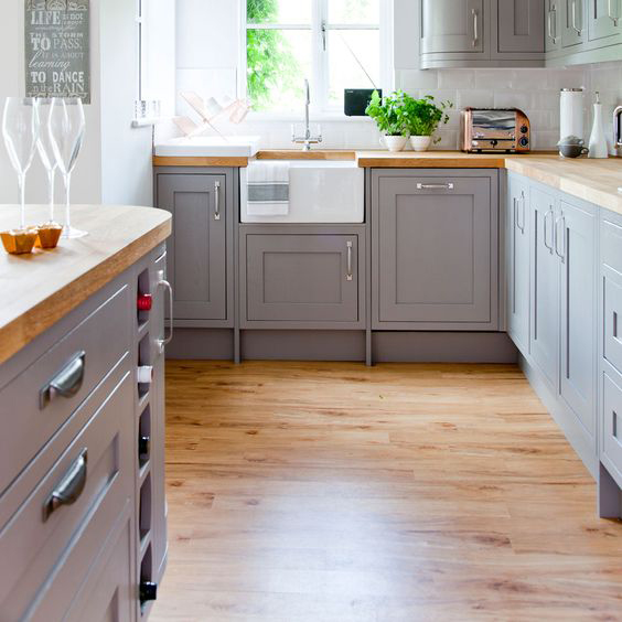 Easy Clean Kitchen Ideas Solid Wood Kitchen Cabinets Blog