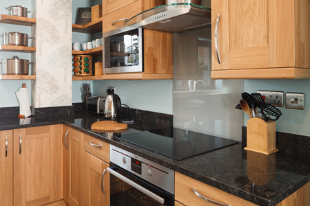 Laminate kitchen worktops not only look great they are durable and easy to clean too.