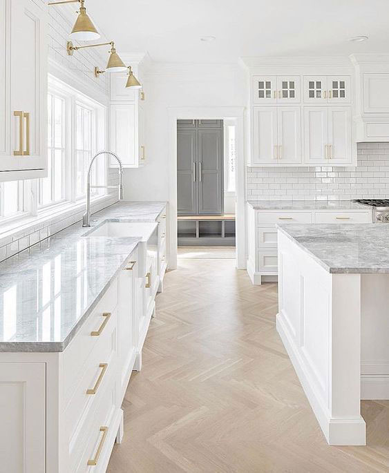 White Kitchen Cabinets Light Floor: Solid Wood Kitchen Cabinets Blog