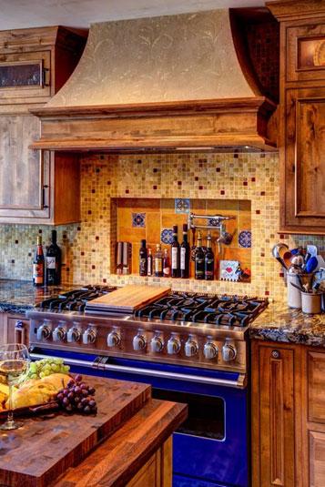 4 Tips for Mediterranean Kitchen Design   Solid Wood Kitchen ...