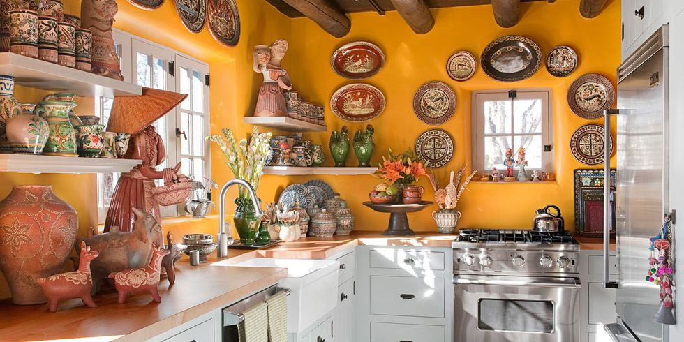 is a mexican kitchen style right for you solid wood kitchen rh solidwoodkitchencabinets co uk Mexican Kitchen Cabinet Granite Rustic Mexican Kitchen Cabinets