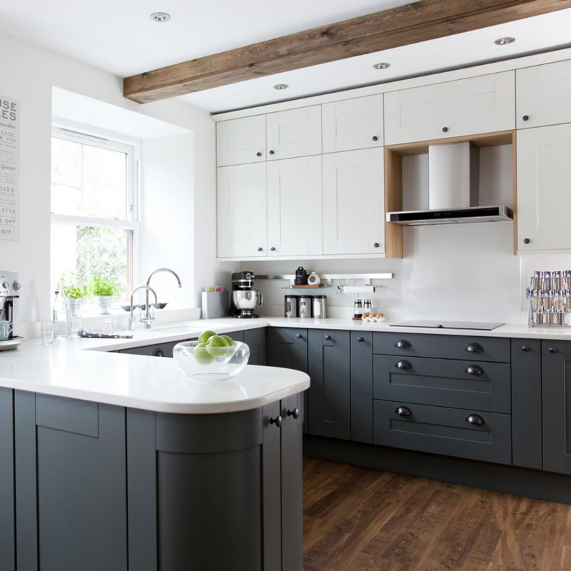 Small U Shaped Kitchen Design: Solid Wood Kitchen Cabinets Blog
