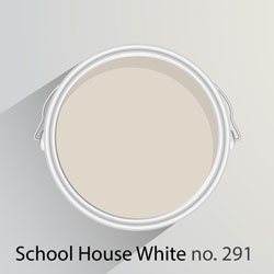 This off white shade is a cool neutral that looks perfect in contemporary and traditional kitchens alike.