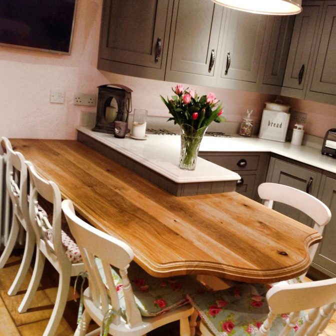 traditional kitchen table