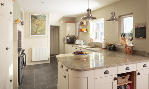 Incorporating plenty of usable worktop space will increase the enjoyment in your kitchen.