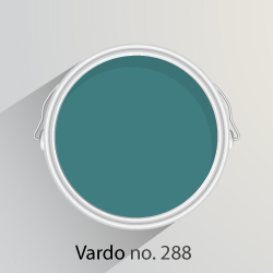 Farrow & Ball's Vardo, Wimborne White and Inchyra Blue were June 2016 colours of the month.