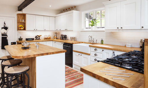 A well designed kitchen layout needs to cater you your specific requirements.