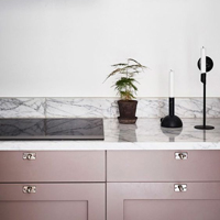 Grey shades of pink are a stylish alternative to white and grey.