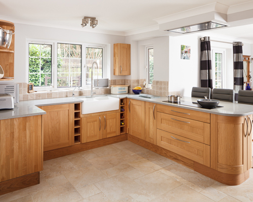If you have space, the choice between a kitchen peninsula and island come down to personal preference.