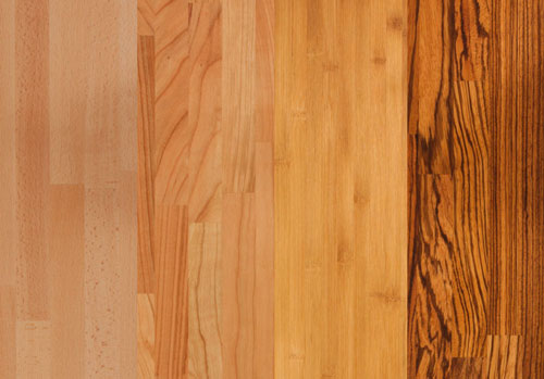 Beech, cherry, caramel bamboo and zebrano are all great choices of wooden worktops for an urban jungle kitchen.