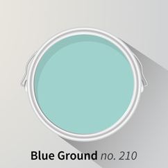Blue Ground offers a softer take on blue for a more subtle look