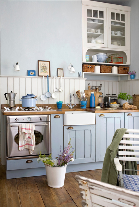 Outstanding Seaside Chic Coastal Inspiration For Oak Kitchens Solid Download Free Architecture Designs Embacsunscenecom