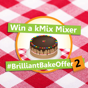 Win a Kenwood kMix Mixer for Solid Wood Kitchens with #BrilliantBakeOffer2
