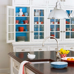 Bring spring into your home with solid oak kitchen cabinets.