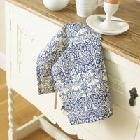Brother Rabbit is a fantastic choice for William Morris tea towels