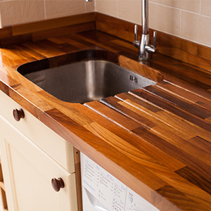 Pick a timber to complement your cabinets