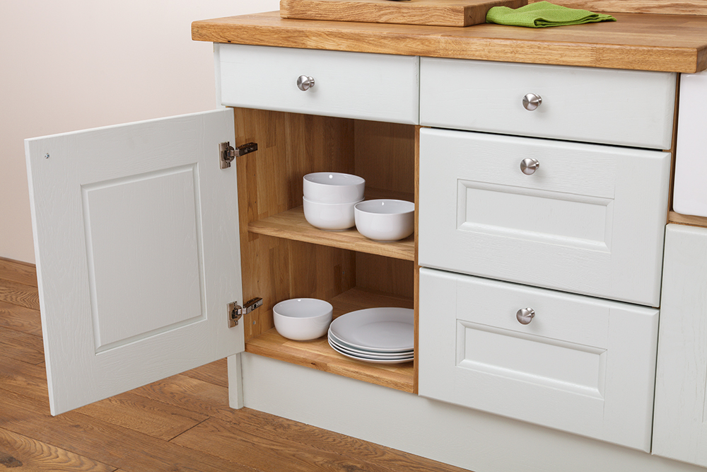 Solid Wood Solid Oak Kitchen Cabinets From Solid Oak