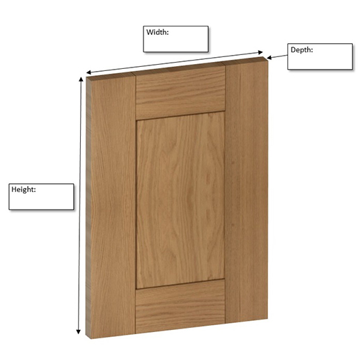 How To Measure Solid Oak Kitchens Cabinets Cabinet Doors Solid Wood Kitchen Cabinets