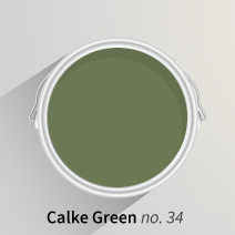Calke Green is a rich mossy hue, inspired by nature