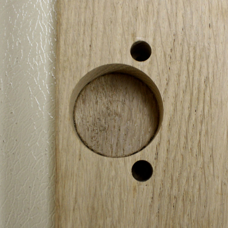Door Hole Drilling : How to choose and install cabinet doors solid wood