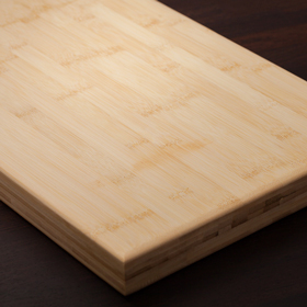 Bamboo is an exotic timber that is ideal for solid wood chopping boards in a modern kitchen.